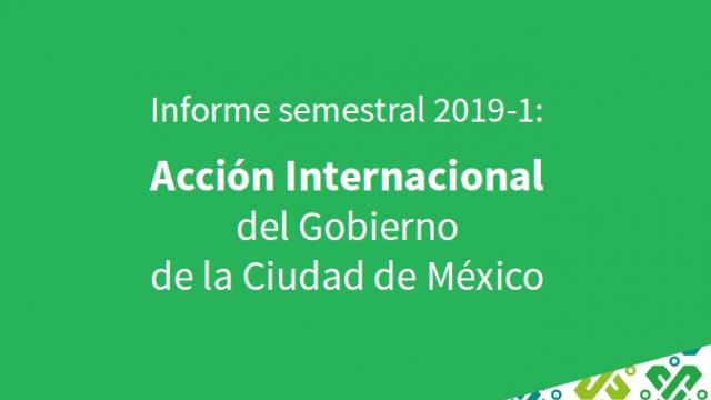 Informe Semestral de Acción Internacional 2019-1