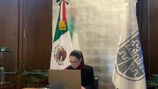 Participa Jefa de Gobierno en Cumbre de Adaptación al Clima 2021