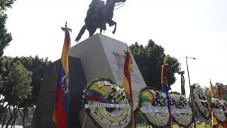 Conmemora el Gobierno de la Ciudad de México el 238 Aniversario del Natalicio del Libertador Simón Bolívar